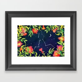See if the Blossoms Have Opened (by Karen Kurycki) Framed Art Print