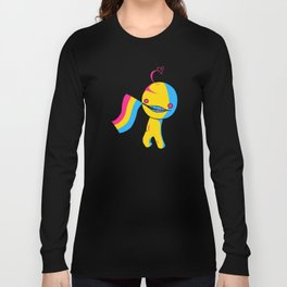 Pansexual Pride Sup Guy Long Sleeve T-shirt