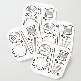 crochet cute - kawaii craft supplies Coaster