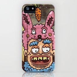 Happy Rabbit iPhone Case