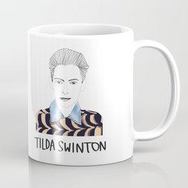 Tilda Swinton Coffee Mug