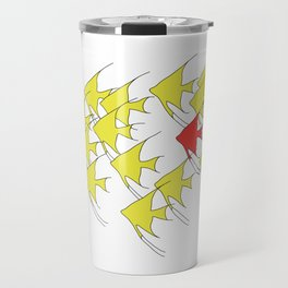 Unique and Belonging, Swim with your Tribe Travel Mug
