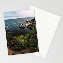 Big Sur Coastal Path Wall Art | California Highway 1 Nature Flowers Ocean Beach Coastal Travel Photography Print Stationery Cards