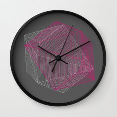 Shapes N Stripes Wall Clock