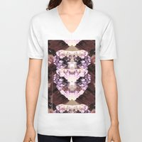 minerals V-neck T-shirts featuring Mira Minerals by lalaprints