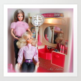 Vintage Brazilian Barbie from Estrela. 80's Art Print