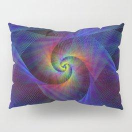 Fractal magic lights Pillow Sham