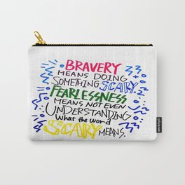 QUOTE ART Carry-All Pouch
