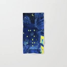 music of the night Hand & Bath Towel