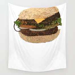 Be Careful What You Eat Wall Tapestry