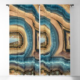 Whale or Woodpecker Agate Blackout Curtain