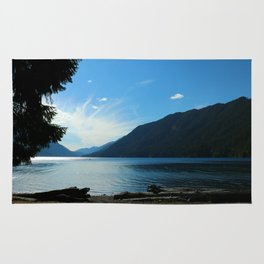 Lake Crescent Shore Rug