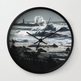 Storm of Grayson Wall Clock
