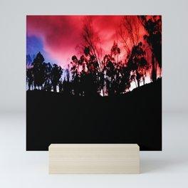 Intense mountain. Mini Art Print