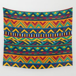 African Style No9 Wall Tapestry