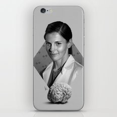 The girl who counted iPhone Skin