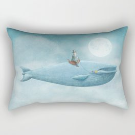 Whale Rider Rectangular Pillow