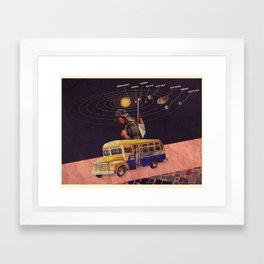 Deportado Framed Art Print