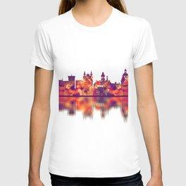 Lublin Poland Skyline T-shirt