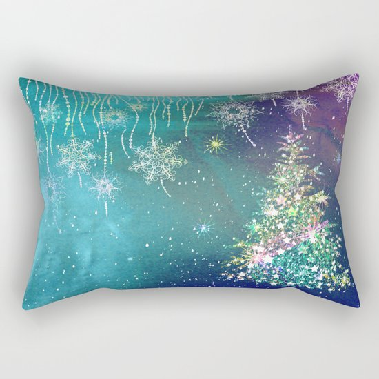 Winter Design QR Rectangular Pillow