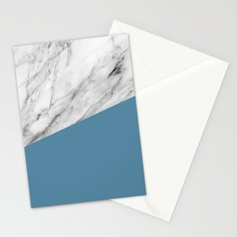 Marble and Niagara Color Stationery Cards