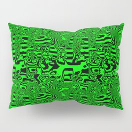 Green areas ... Pillow Sham