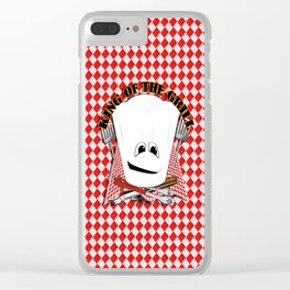 King of the Grill Clear iPhone Case