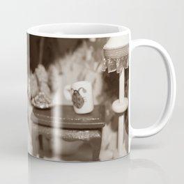Welcome To Our (Spooky) Home Sepia Coffee Mug