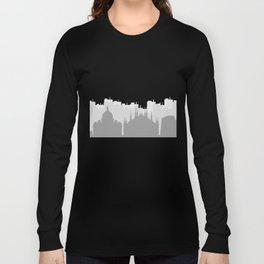 skyline italy Long Sleeve T-shirt