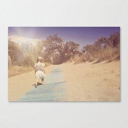 Blue Way Home Canvas Print