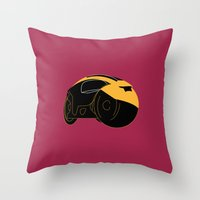 tron Throw Pillows featuring Tron by FilmsQuiz