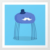 Daddy Long Legs Art Print