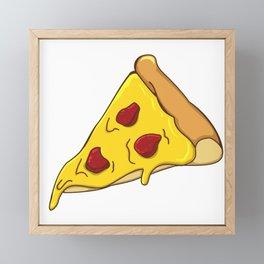 Pizza lovers gift idea  Framed Mini Art Print