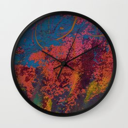 L'important c'est le rose / Pink is the most important Wall Clock
