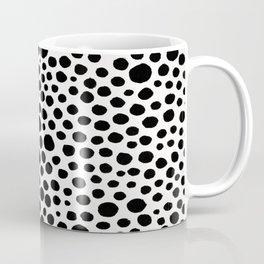 Messy polka dots Coffee Mug