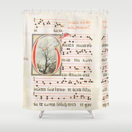 Marking Time Shower Curtain