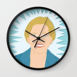 Elizabeth Warren | Bad Ass Women Series Wall Clock