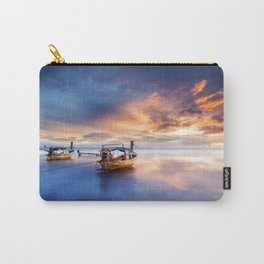 Ao nang beach at sunrise Carry-All Pouch