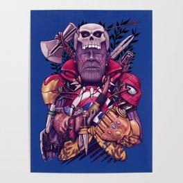 Wild Thanos Poster