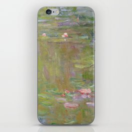 Water Lily Pond by Claude Monet iPhone Skin
