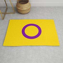 Intersex Pride Flag LGBTQ Rug