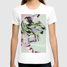 wisdom of levi ackerman T-shirt