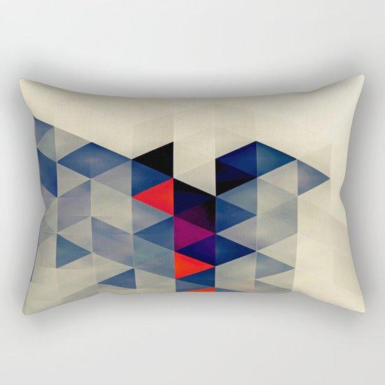 Geometric XQ Rectangular Pillow