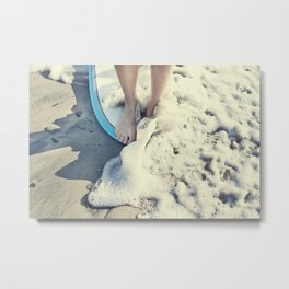 toes on the nose  Metal Print
