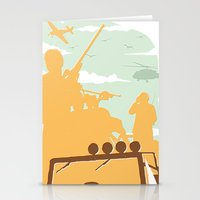 gta Stationery Cards featuring GTA V - TREVOR PHILIPS by ahutchabove
