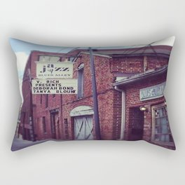 Blues Alley (Washington, DC) Rectangular Pillow