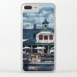 Nyköping Clear iPhone Case