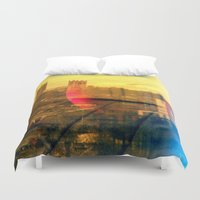 lincoln Duvet Covers featuring Lincoln by Jonathan Wright Productions