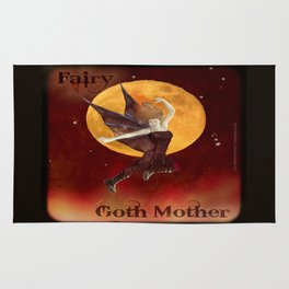 FAERIE GOTH MOTHER - 033 Rug