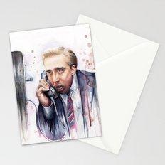 Nicolas Cage Vampire Meme Stationery Cards
